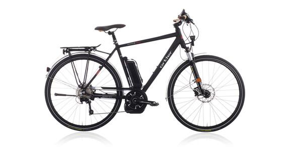ortler montreux speed e bike zwart gunstig bij bikester. Black Bedroom Furniture Sets. Home Design Ideas